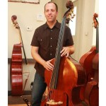 Double bass luthier Nick Lloyd
