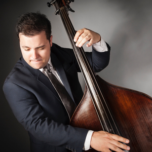 David White performs on upright and electric bass in musical theatre