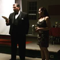 Tony & Missy announcing Benjamin's Brother - Story of a Broken Heart as winner for the Here Kitty Kitty category