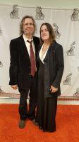 Judge Sarah Guimond & Her lovely husband Greg Sullivan on the orange carpet