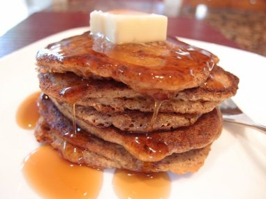Almond Flour and Flax Seed Pancakes