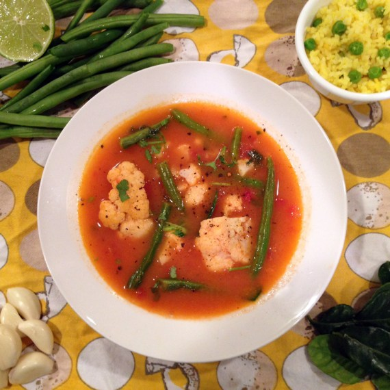 LightRedCurryVegetableSoup_ThaiFood_DoubleChinDiary