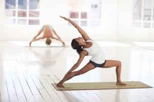 yoga student Peaceful Warrior