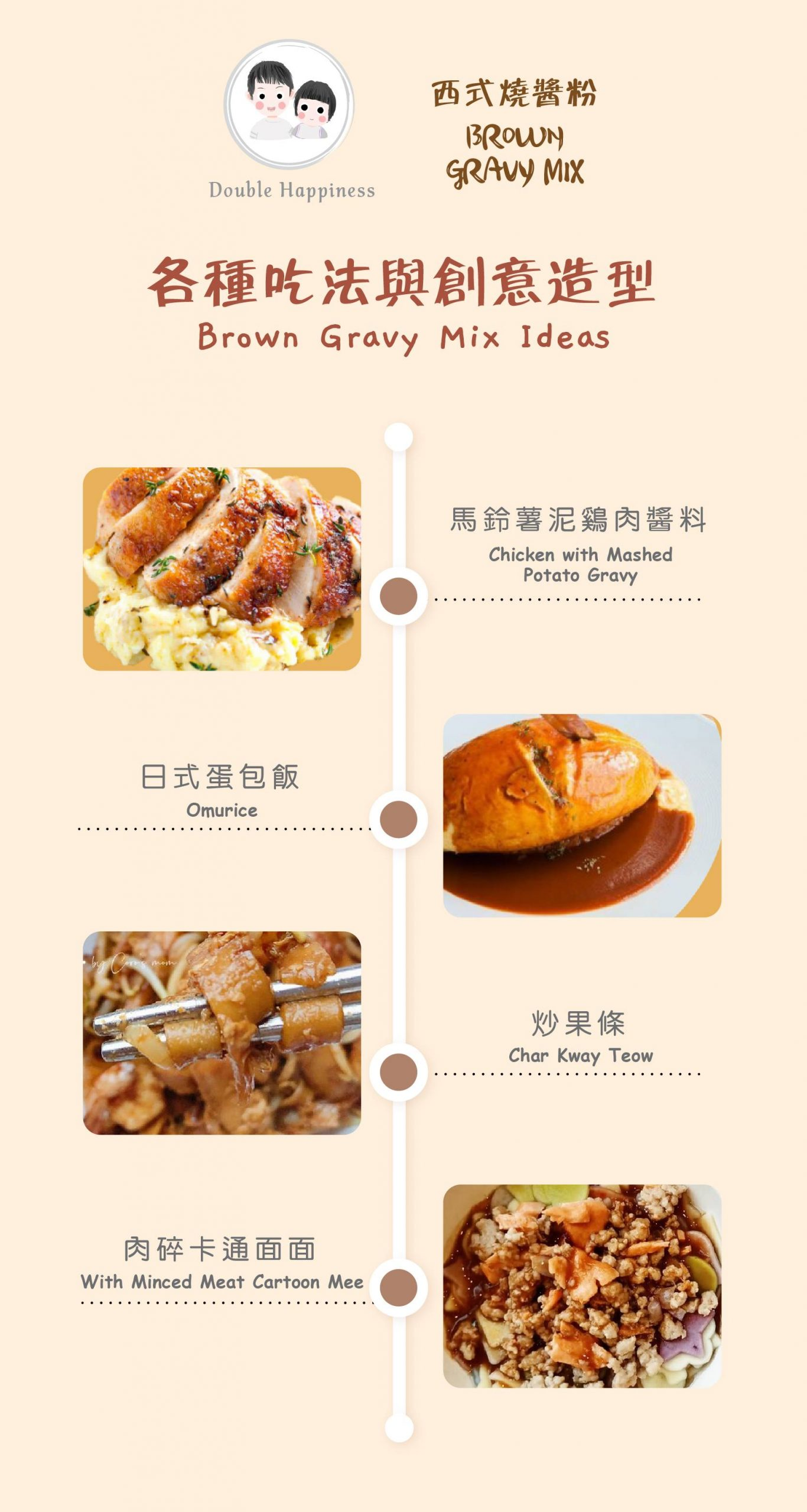 Cooking ideas with our brown gravy mix