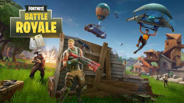 A poster for Fortnite: Battle Royale