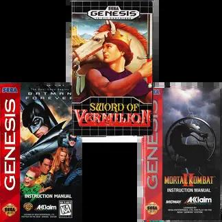 Sega Genesis Manuals