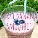 Berry Banana Smoothie  - Double Knotted Apron