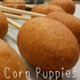 Corn Puppies - Double Knotted Apron