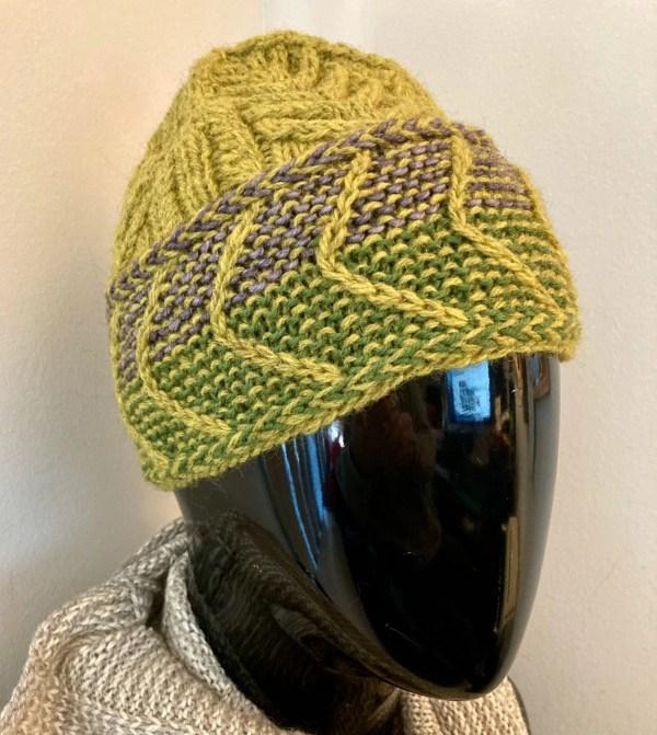 Chevron Brimmed Hat CBH0010 02