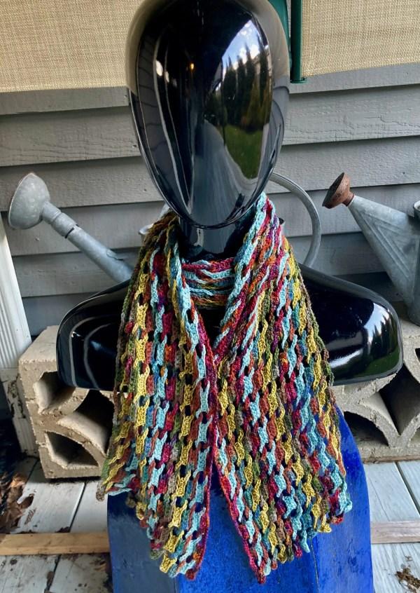 Interlocking Crochet Scarf ICS0170 02