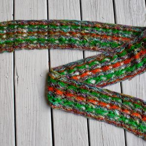 Knitted Cross Stitch Scarf CSS0380 01