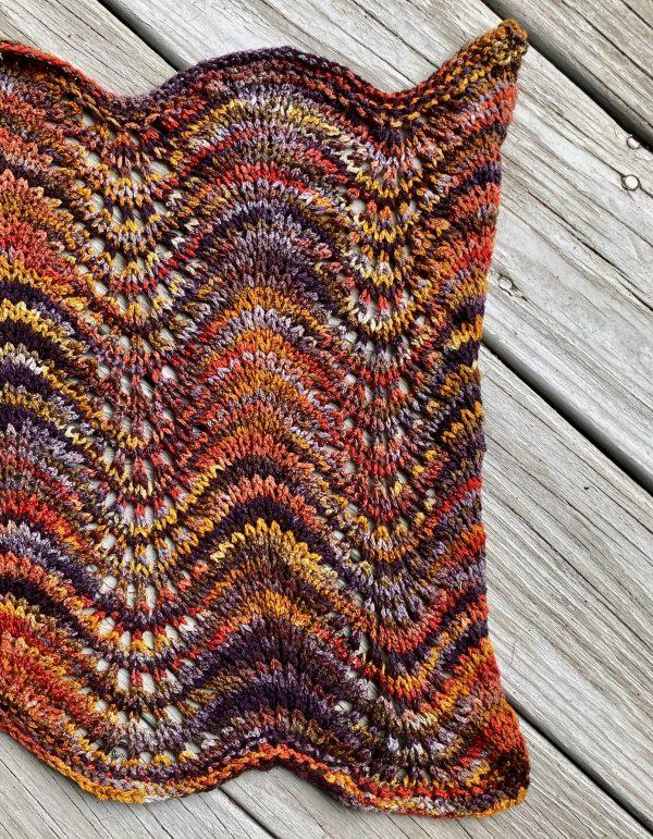 Old Shale Silk Wrap 3
