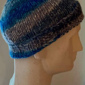 Colorful Hat Blue Gray 12