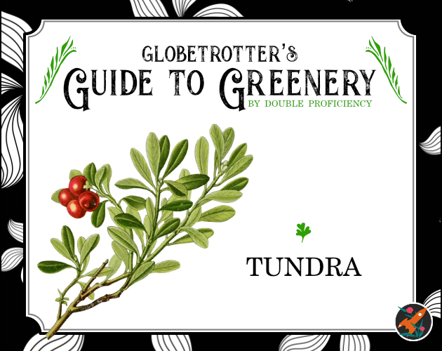A cover of Globetrotter's Guide to Greenery: Tundra
