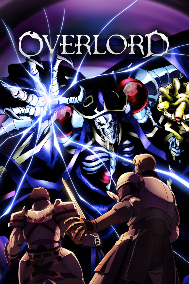 Overlord Cover Art featuring Ainz Ooal Gown