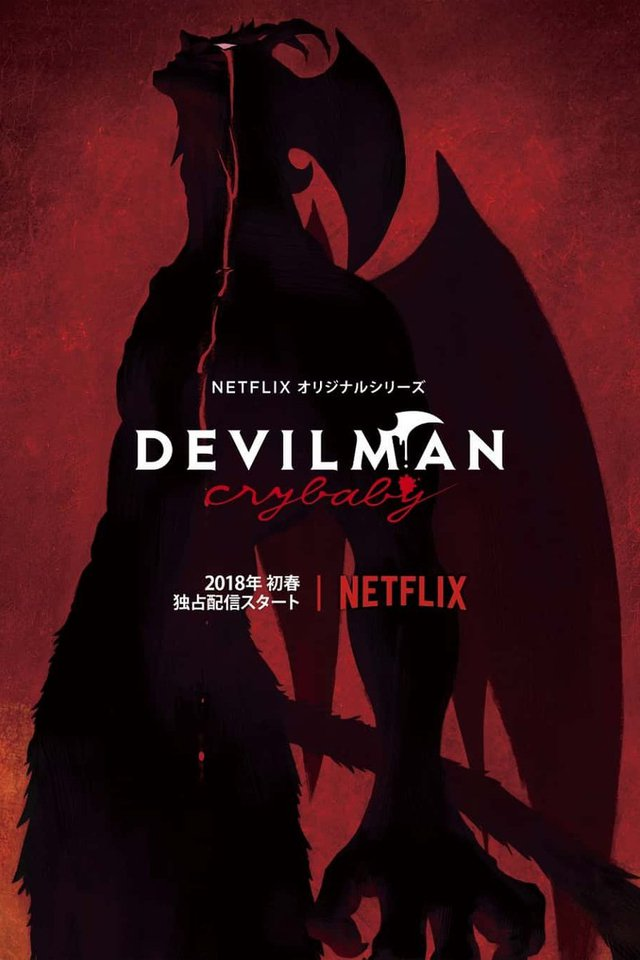 Devilman: Crybaby Poster/Cover Art