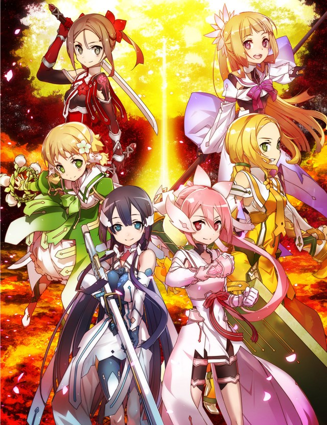 Yuki Yuna is a Hero: The Hero Chapter anime cover art featuring the Hero Club