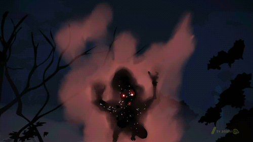 An Ogre attacking from the horror anime From the New World
