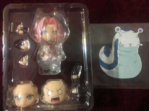 Sakura Haruno Nendoroid Pieces (from the anime Naruto: Shippuden)