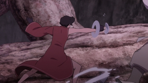Fourth Tsuchikage Kurotsuchi vs. Kinshiki Otsutsuki from the anime Boruto: Naruto Next Generations
