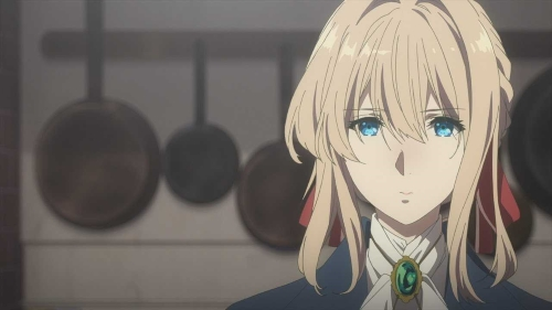 Violet Evergarden from the anime Violet Evergarden