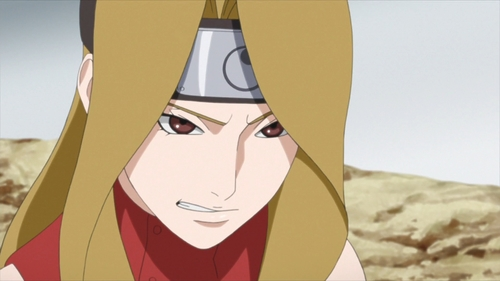 The actress Ashina from the anime Boruto: Naruto Next Generations