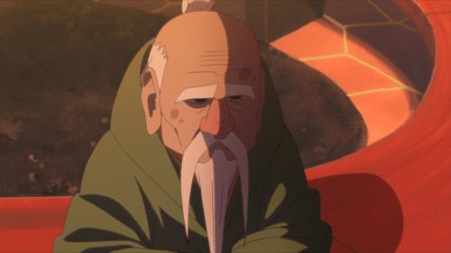 Third Tsuchikage Ohnoki from the anime Boruto: Naruto Next Generations