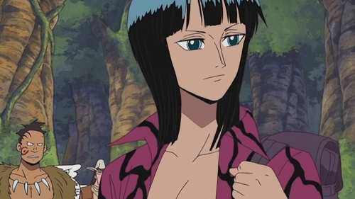 Nico Robin from the Sky Island arc of One Piece