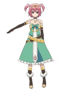 Linnea from the anime The Master of Ragnarok and Blesser of Einherjar