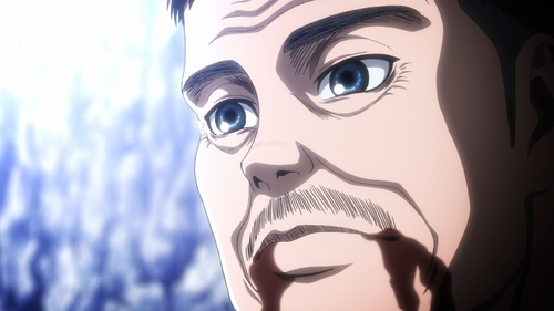 Rod Reiss from the anime Attack on Titan season 3