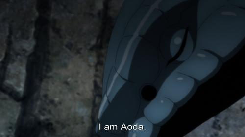 Sasuke Uchiha's personal summon, Aoda from the anime Boruto: Naruto Next Generations