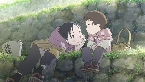 Suzu Urano and Harumi Kuromura from the anime movie In This Corner of the World