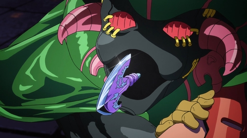 Polpo's Black Sabbath Stand from the anime JoJo's Bizarre Adventure Part 5: Golden Wind