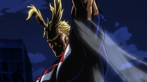 All Might from the anime My Hero Academia season 3