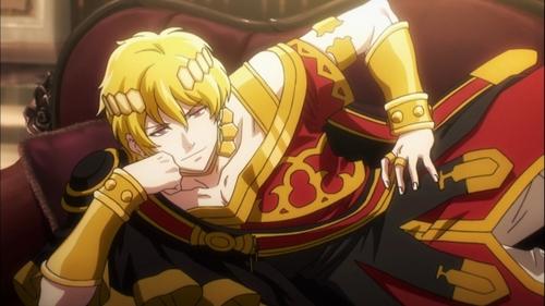 Emperor Jircniv Rune Farlord El Nix from the anime Overlord III