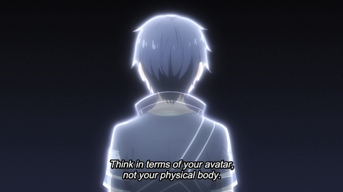 Kirito from the anime Sword Art Online: Alicization