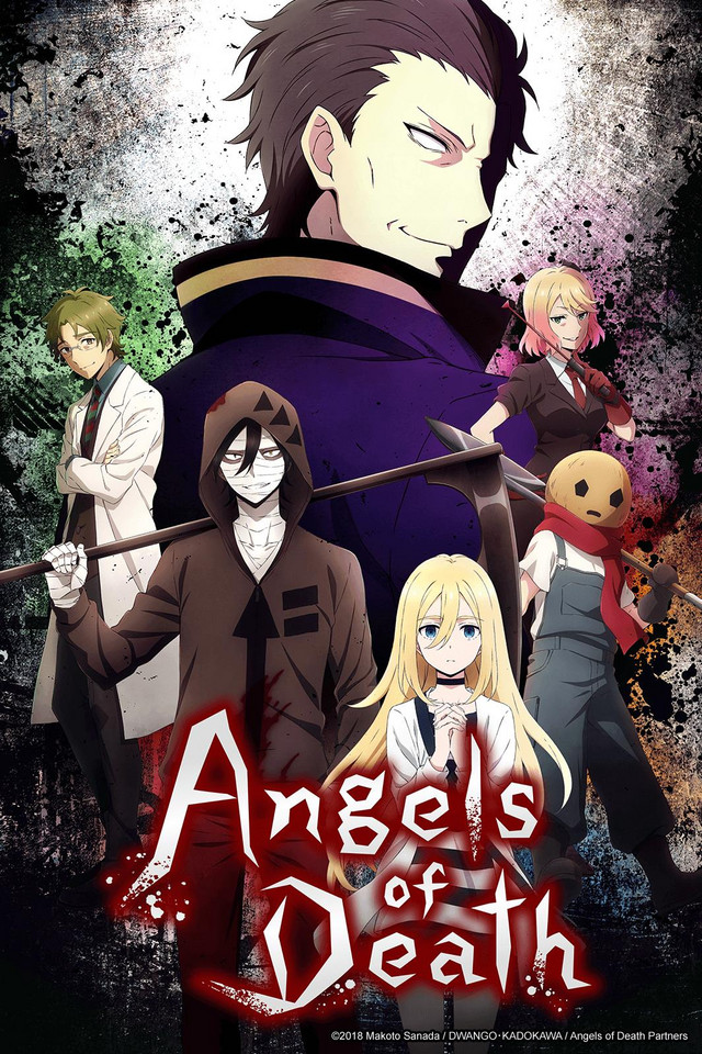 Angels of Death anime cover art