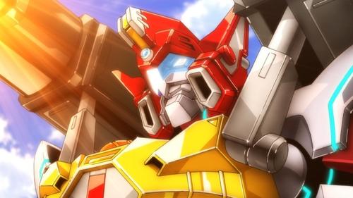Buster Gridman from the anime SSSS.Gridman