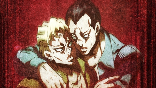 Sorbet and Gelato from the anime JoJo's Bizarre Adventure Part 5: Golden Wind