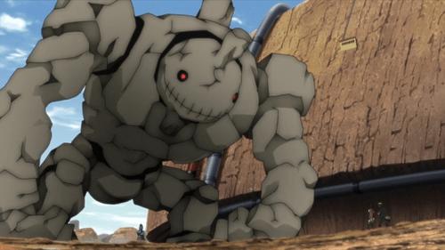 The Giant Akuta from the anime series Boruto: Naruto Next Generations