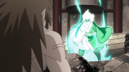Mitsuki vs. Ku from the anime series Boruto: Naruto Next Generations