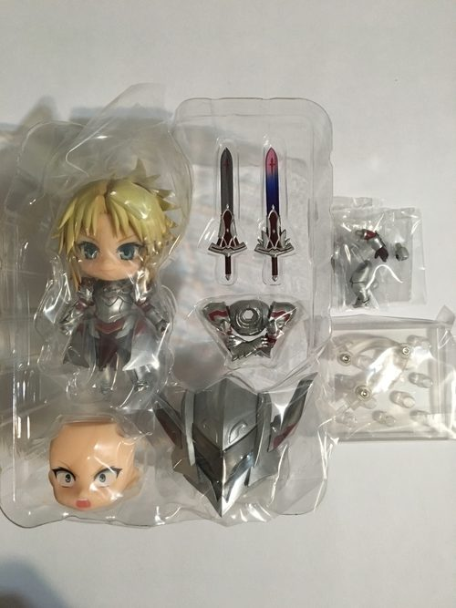 "Mordred, Saber of ""Red,"" Nendoroid Pieces from the Fate anime series"
