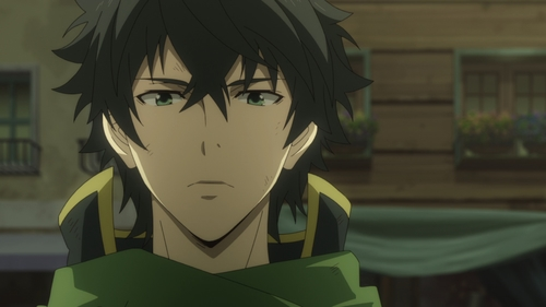 Naofumi Iwatani from the anime series The Rising of the Shield Hero