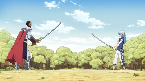 Gazel Dwargo vs. Rimuru Tempest from the anime That Time I Got Reincarnated as a Slime