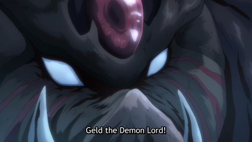 Orc Disaster, Geld the Demon Lord from the anime That Time I Got Reincarnated as a Slime