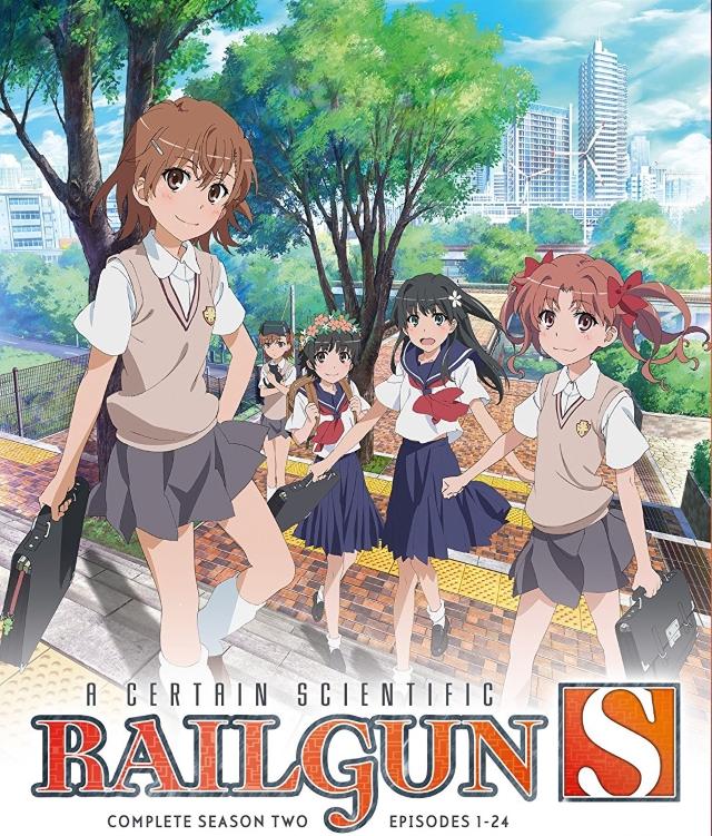 A Certain Scientific Railgun S anime series cover art