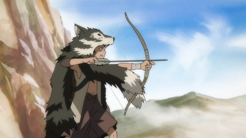 Saru from the anime series Dororo