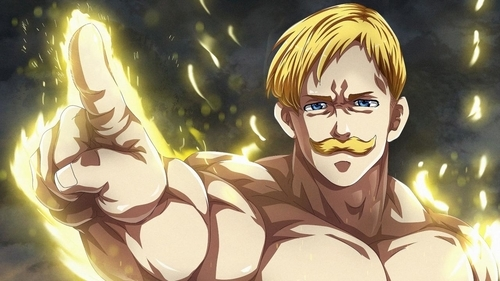 Lion Sin of Pride, Escanor from the anime series The Seven Deadly Sins: Revival of the Commandments