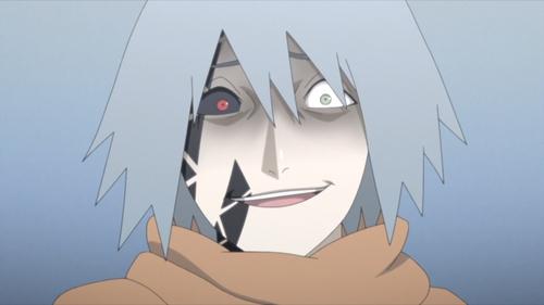 Tosaka's curse mark from the anime series Boruto: Naruto Next Generations