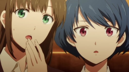 Hina and Rui Tachibana from the anime series Domestic Girlfriend